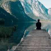 Meditation am See