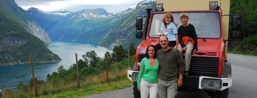 Jürgen Laske Familie Tour