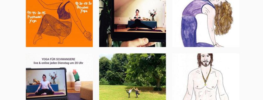 Nadine Arbeiter Yoga Instagram Schnappschuss