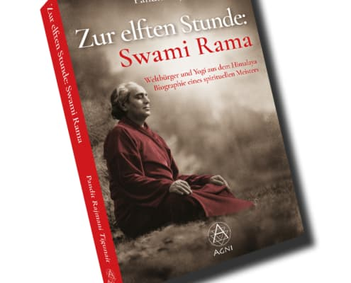 "AV011/AV025 - Pandit Rajmani Tigunait - Zur elften Stunde: Swami Rama"" (Biographie), Agni Verlag 2021"