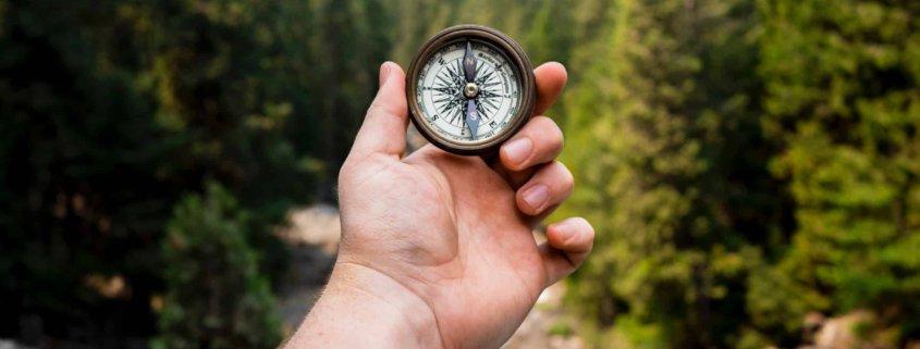 Kompass, Zweck, Richtung